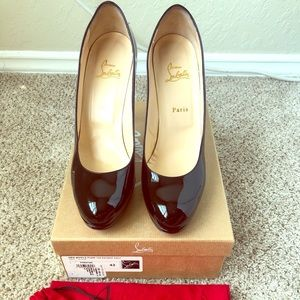 Christian Louboutin New Simple Pump 120 size 42